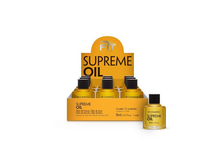 Supreme Oil – Display with 12 units