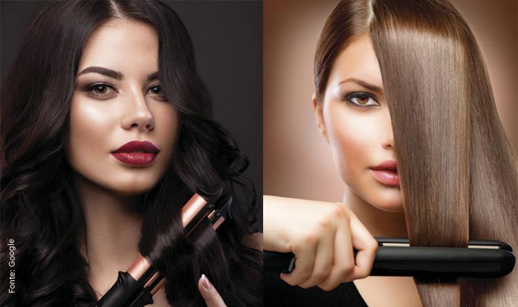 É possível ter cabelos saudáveis mesmo usando chapinhas e modeladores de cacho constantemente?
